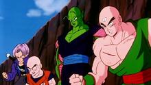 Piccolo voit la défaite de Vegeta