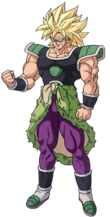 Super Broly artwork