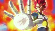 Vegeta Super Saiyan God contro Broly - DBSB
