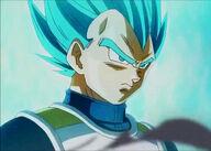 Vegeta en Super Saiyen Blue