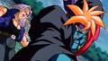 3. Kogu attacks Trunks