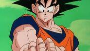 Goku reading krillins mind