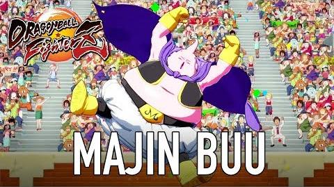 Dragon Ball FighterZ - PS4 XB1 PC - Majin Buu (Character Intro Trailer)