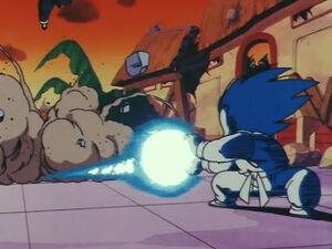Son Goku sauna kamehameha
