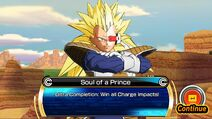 SDBH World Mission Ch2, Sub Ch1 - An Anomaly?! The Saiyans Strike! Anomalous Super Saiyan 3 Prince Vegeta IV (4-Star Boss Mission - Soul of a Prince)