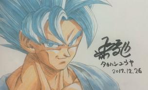 Super Saiyan Blue Goku(Takahashi)