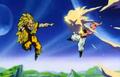 Vegeta's Respect - Goku blasts Kid Buu