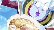 Whis assaggia il ramen