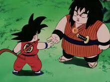 Yajirobei e Goku