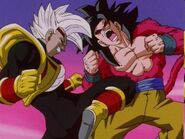 Goku Super Saiyan vs Super Baby Vegeta 2 (1)