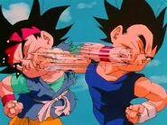 Goku vs vegeta jrs