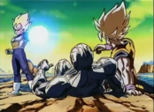Vegeta usando el Big Bang