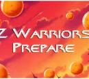 Z Warriors Prepare