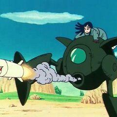 Mai che lancia missili con la Pilaf Machine.