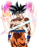 Son Goku egoísta Artwork