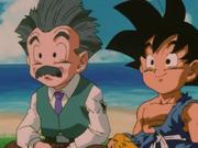 Goku e Crilin