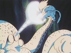 Morte calamaro gigante anime