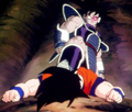 Turles over Goku