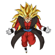 Vegetto - Xeno (Super Saiyan 3) (Artwork)