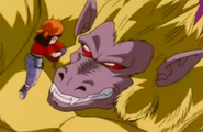 Goku Ozaru Dorado (2)
