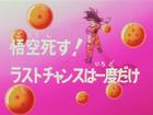 La scomparsa di Goku Title-Card JP