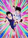 Dokkan Battle Brave Pair Gohan (Teen) & Videl card (Story Event Videl's Flying Technique Tutorial - Adolescent Gohan & Videl)