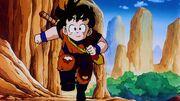 Gohan si allena con Piccolo