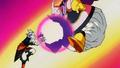 Kaio Shin vs Majin Boo