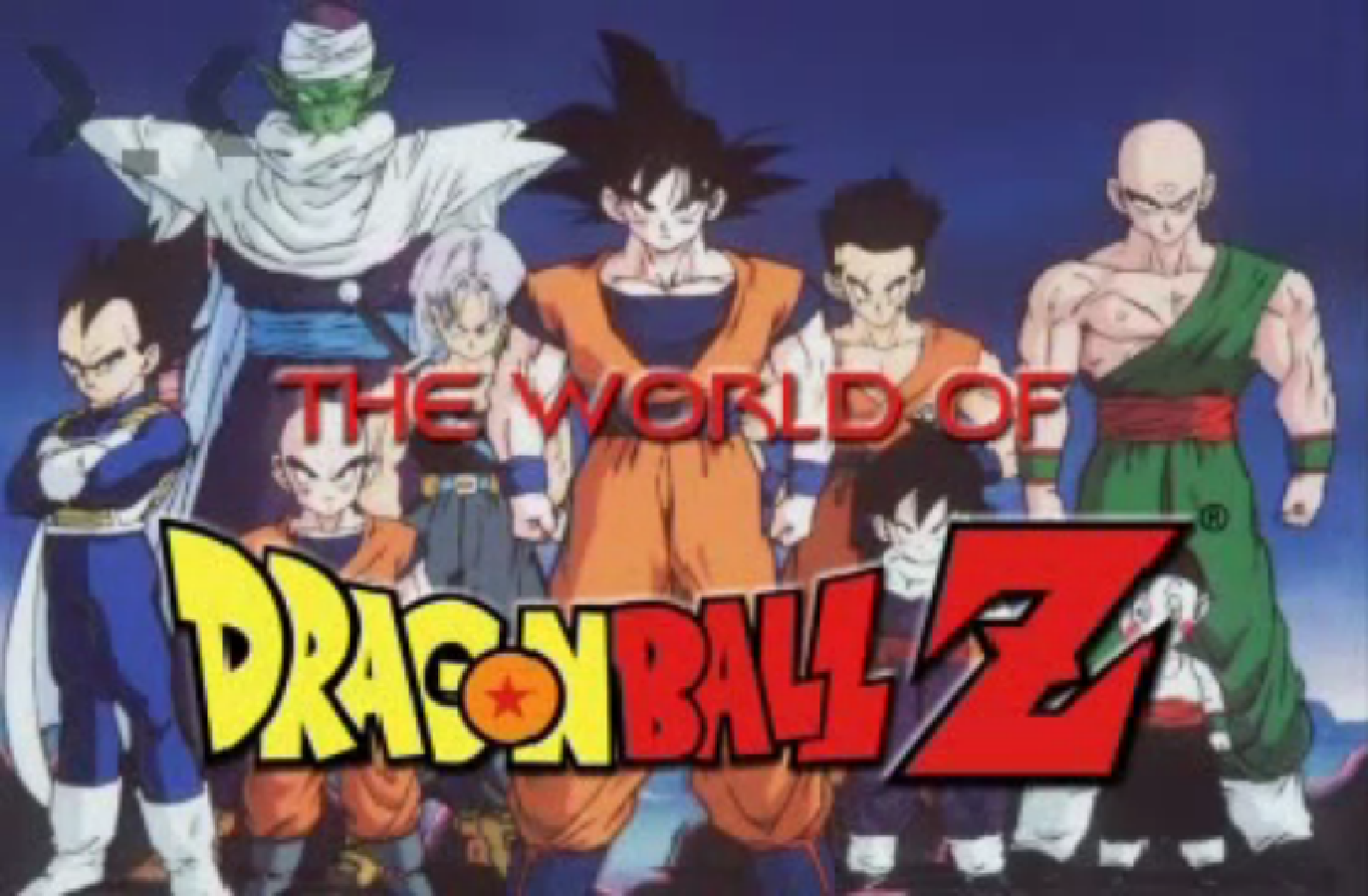 The World of Dragon Ball Z | Dragon Ball Wiki | FANDOM ...