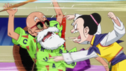 Chi-Chi atacando a Roshi