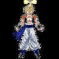 Gogeta (Super Saiyan 2) (Artwork)