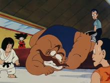 Goku lors des éliminatoires