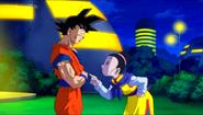 Milks se preocupa por Goku