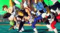 Vegeta with Ginyu Force Xenoverse