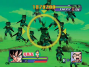 Dragon Ball Z Scouter Battle Taikan Kamehameha Ora to Omee to Scouter cell y cell jr