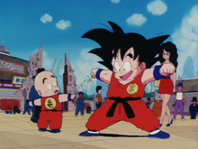 Goku et Kuririn Tenkai Ichi