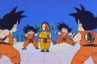 Son Goku vs replicante 2