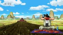 Goku mange pendant son emploi