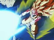 Goku ssj3 super onda de energia