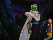 Piccolo nel suo ultimo incontro con Son Goku