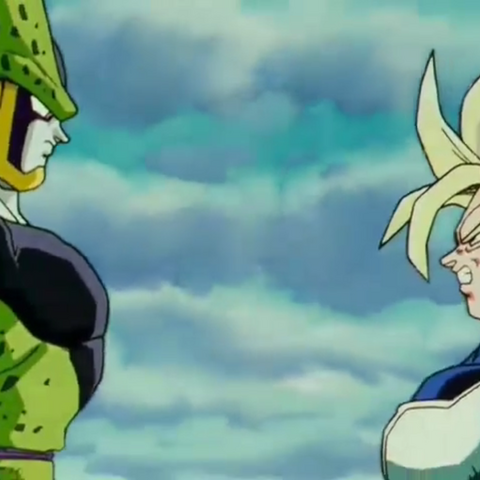Cell e Trunks a confronto.