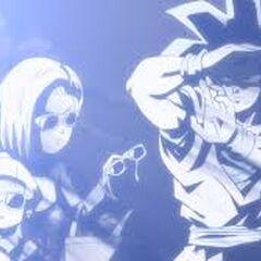 Occhiali da sole indossati in Dragon Ball Super.