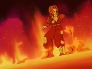 Trunks soffre il caldo nella stanza speciale