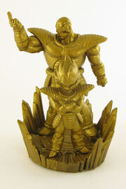 Megahouse Nappa Vegeta Gashapon gold