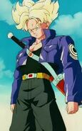 Trunks del futuro super sayayin