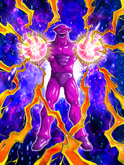 Dokkan Battle Boss The Threat of the Superhuman Water Gryll (Duplicate) card (Story Event Vegeta's Demise! The Secret of Planet Potaufeu - Duplicate Gryll SSR)