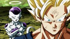 Freezer e Goku al Torneo del Potere