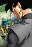 Goku Negro Simple