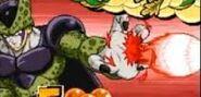 Lluvia de Poder Negativa de Cell perfecto en Harukanaru Densetsu