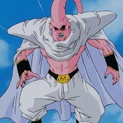 Majin Bu dopo aver assorbito Gotenks e Piccolo ma con fusione sciolta.